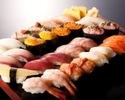 高級寿司食べ放題(2時間制) 4,389円