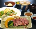 Shinshu Wagyu beef sirloin course recommended for lunch time