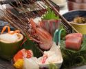 旬の魚が楽しめる刺身定食【海鮮小町】