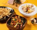 【BEER TERRACE 2020】ヒューガルデン含む1.5時間飲み放題付!前菜盛り合わせやスパイス香るメインディッシュなど7品