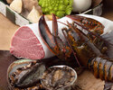 【ランチコース伏見】~銘柄牛ロース肉。 さらに、鮑かオマール海老が選べるコース~