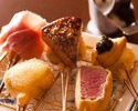 [18 courses] Special course incorporating the world& three major delicacies and seasonal ingredients