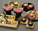 【12月】<和月>佐賀牛と三浦産有機野菜のすき焼きコース(3時間飲み放題付き)