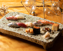 【Christmas Dinner 2020】Authentic Japanese Sushi Dinner Course for Christmas JPY16,000