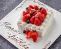 【お誕生日に】乾杯スパークリング&ホールケーキ付!季節野菜の前菜・パスタ・選べるメイン含む全4品(土日祝)