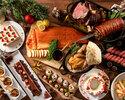 《 12/19~20・12/24~27 》2部:クリスマスディナーブッフェ90分/¥8,800