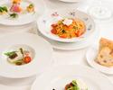 【スパークリング付6皿】シェフおすすめコース!選べるパスタとメイン料理!笑顔広がる優雅なひととき