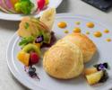 【土日祝】天上のヴィーガンパンケーキ~季節の野菜サラダ付き~