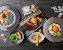 【15,000円】旬の肉と魚が楽しめるフェスティブディナーグラスシャンパン付き