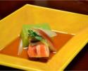 Lunch course 11,800 yen