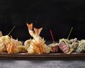 【13,000円】日本料理「さくら」天ぷらカウンター 絶景が眺められる特等席で味わう フェスティブディナーコース