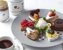 【limited amount】 An assortment of decadent sweets with an unlimited supply of coffee and tea.