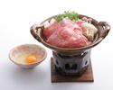 A4 Black Wagyu Sukiyaki course / 2500B