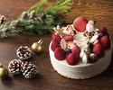 Christmas Strawberry short cake