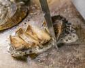 ランチ【あわびコース】鮑や当店人気の名物、ズワイ蟹、国産牛サーロイン含む豪華全8品