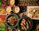 ◆1週間前まで予約/1ドリンク付ランチ平日シニアクリスマスブッフェ(65歳以上)