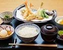 かき揚げ丼(白)