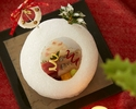 """【Christmas Dinner Course】""""Christmas Special Kaiseki"""" with a glass of Champagne"""