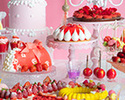 <Weekday> Strawberry Dessert Buffet