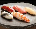 Omakase Course(Sashimi + 2 Dishes & 10 Sushi)