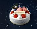 【WEB限定割引】☆Xmas☆ストロベリーショートケーキ【5号】