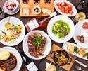 ブラックアンガスTボーンステーキ/John Dee 牛リブロースステーキ Vino贅沢ステーキコース全11品コース(飲み放題付き)