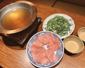 Steak & Shabu-shabu Course (1 to 4 people)
