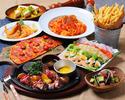 ★がっつり食べられる!熟成肉のステーキプレミアムコース★全9品2480円(税抜)