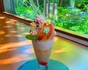 【夏期間限定ランチ】メインが選べるランチセット×フレッシュ桃のパフェ付き