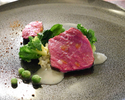 《メイン尾崎牛サーロイン ディナーコース》8品のコース