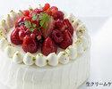 アニバーサリーケーキ:生クリームケーキ・15cm(4~6名様用)