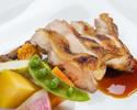 【3・4月】はかた地鶏のローストコース(イタリアーノ)(2時間飲み放題付き)