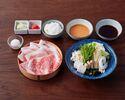 Aset:Beef loin40g+YONEZAWA pork80g