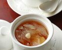【夏のご宴会】5000円 免疫力UP!「特製薬膳風蒸しスープ」・ふかひれ・担々麺入り