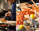 【Weekend/For 2】 Dinner Buffet with Folk Crab Bucket 500g