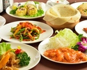 [3000 yen] We serve our standard dishes such as our specialty duck salad, hoicoro, mapo tofu <all 7 items> [jasmine]