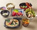 Tuna set menu