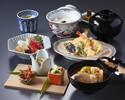 【犀川御膳×1ドリンク&食後の珈琲付】天ぷらやお造りなど、ホテル高層階で愉しむ贅沢ランチ