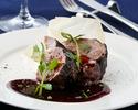 イベリコ豚の煮込み料理がメインのコース