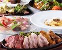 乾杯酒×2.5時間飲み放題付!メガ盛りステーキ3種食べ比べ×赤穂産牡蠣食べ放題 デザート盛等