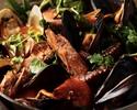 【平日限定Special lunch】沢山の季節野菜、魚介の旨みが詰まったブイヤベースを楽しむコース(全6品)ドルチェ付き