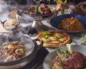 【C】生ウニの濃厚カルボナーラ&真鯛のアクアパッツァ&極黒牛のビステッカ贅沢プラン