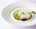 【日本の春メニュー】お魚料理とお肉料理のWメイン、選べるデザートコース全5皿