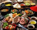 【平日限定500円OFF】3時間飲み放題付き SORAMIDO BBQコース