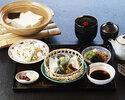 南禅寺名物 湯豆腐 松の膳 生湯葉+お造り付き
