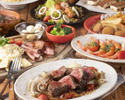 【直火牛&海鮮Wメイン】山海の美味に包まれる歓送迎会『北海道産サロマ牛・海鮮で贅沢プラン』飲み放題付