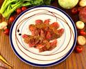 【お料理のみでお得♪】焼きトマトとブラータチーズのカプレーゼや国産和牛イチボ等、野菜も肉も味わいたい人の為のわがまま贅沢コース