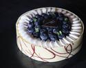 Okura Blueberry Cheesecake