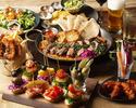 【飲み放題が通常120分⇒150分】 7~12名様の団体のお客様限定!◆BIG TABLE PLAN◆ビッグテーブルのご利用でお得なプラン♪