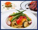 【ディナー】ウラヨココース/手打ちパスタ・前菜の盛り合わせ・メイン・デザートなど 全6品